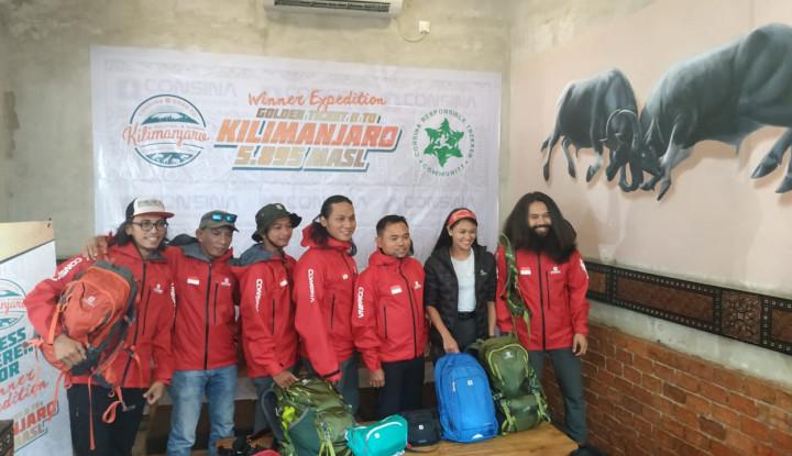 Consina Ajak Jalan-Jalan Pendaki Indonesia ke Gunung Kilimanjaro - Warta Ekonomi