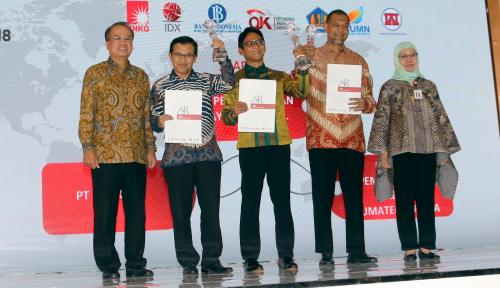 Foto Terapkan Keterbukaan Informasi, Laporan Tahunan Bank DKI Raih Annual Report Awards