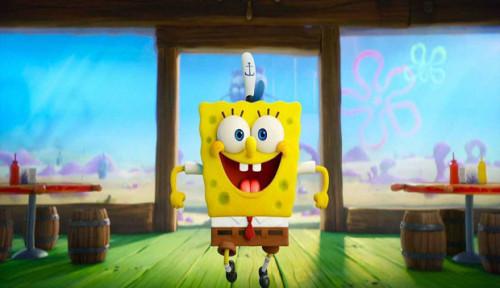 Foto Pada Sadar Gak? Keanu Reeves Nongol Lho di Film The SpongeBob Movie: Sponge on the Run