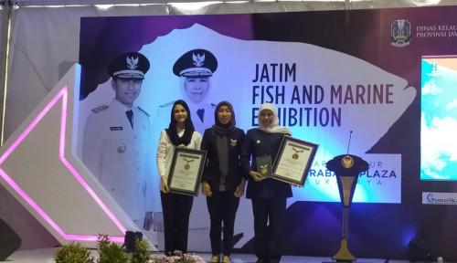 Foto Sajikan 11.021 Ikan Bandeng Presto, Jatim Pecahkan Rekor MURI