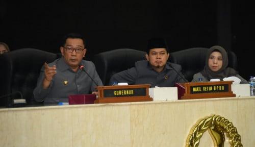 Foto Mangkir Paripurna, Kepala OPD Jabar Lalai Instruksi Ridwan Kamil?