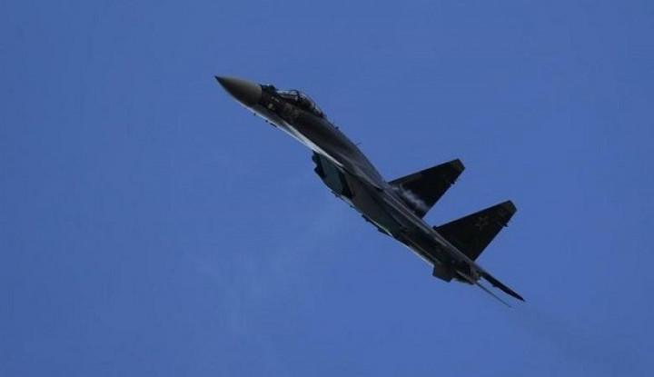 Mantap, Jet Tempur Rusia Sukses Cegat dan Usir Pesawat Intai AS