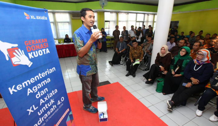 XL Axiata Dukung Program Madrasah 4.0 - Warta Ekonomi