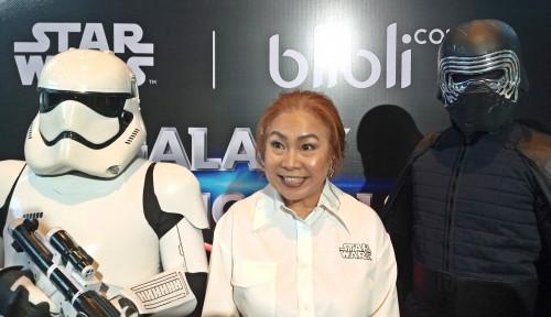 Foto Kolaborasi Dengan Disney, Blibli Gandeng 16 Desainer Lokal Produksi Merchandise Star Wars