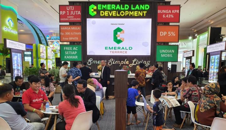 Pasar Properti Bergairah, Emerald Land Bidik Penjualan Rp70 Miliar di IPEX 2019 - Warta Ekonomi