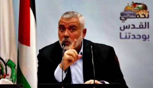Foto Pemimpin Hamas: Pertempuran dengan Israel Belum Berakhir