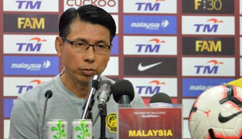 Foto Banyak-banyak Memuji Jadi Strategi Pelatih Malaysia Hadapi Indonesia, Yakin Berhasil?