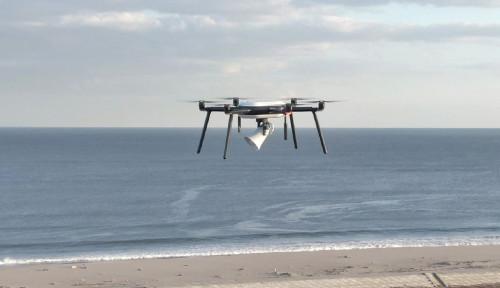 Foto Jepang Uji Coba Drone untuk Deteksi Tsunami Pertama di Dunia, Indonesia Kapan?