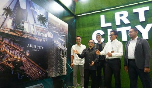 Foto Punya 6 Proyek Baru, Penjualan LRT City Bakal Lompat 80%