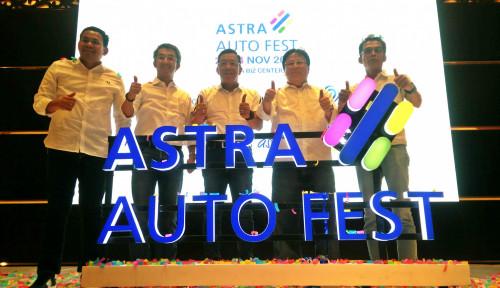 Gelar Astra Auto Fest 2019, Grup Astra Tabur Hadiah Rp3,7 M