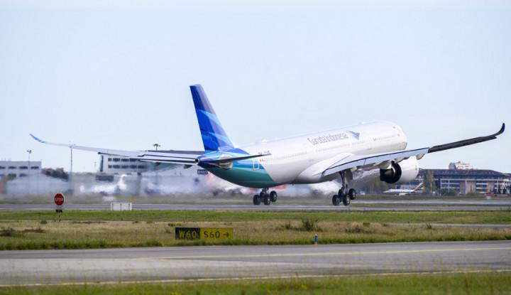 Pendapatan Merosot 90%, Garuda Tertolong Penerbangan Domestik