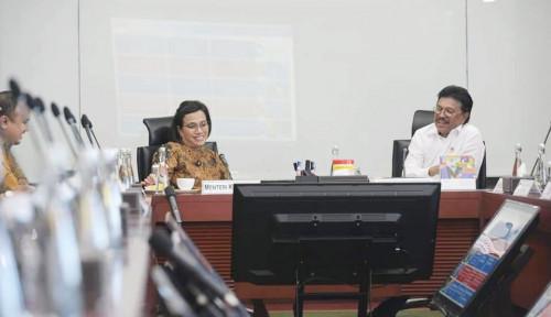 Foto Bertemu, Sri Mulyani dan Johnny G. Plate Bahas Roadmap Digital Nation untuk Indonesia