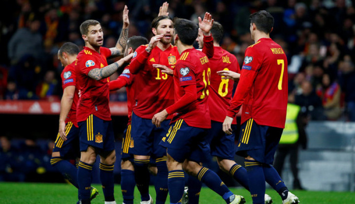 UEFA Nations League: Spanyol Gilas Jerman, Prancis Sikat Swedia