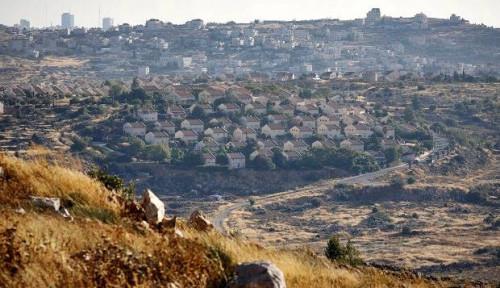 Foto Jerman: Permukiman Israel di Tepi Barat Ilegal