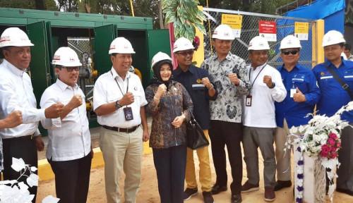 Foto Jargas Kota Dumai Rampung, 4.743 Rumah Tangga Bisa Nikmati Gas Bumi