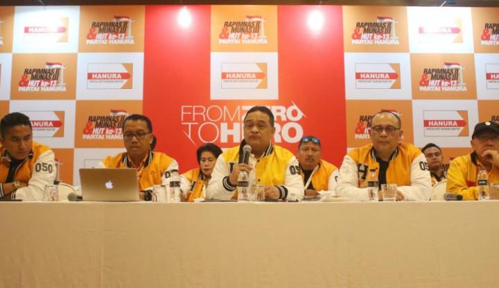 Hanura Bentuk Tim Pemenangan Pilkada 2020 - Warta Ekonomi