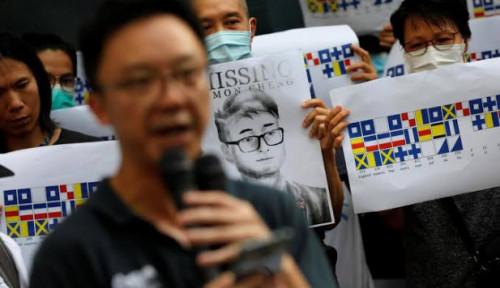 Foto Di Tengah Aksi Demonstrasi, Bankir Hong Kong Rayu JD.com dan Baidu Buat . . . .