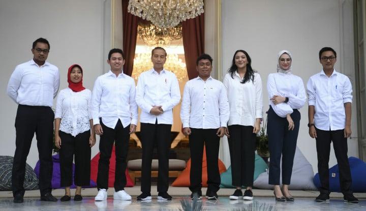 Foto Berita Deretan Perusahaan Milik Stafsus Milenial Jokowi: dari Andi Taufan hingga Putri Tanjung