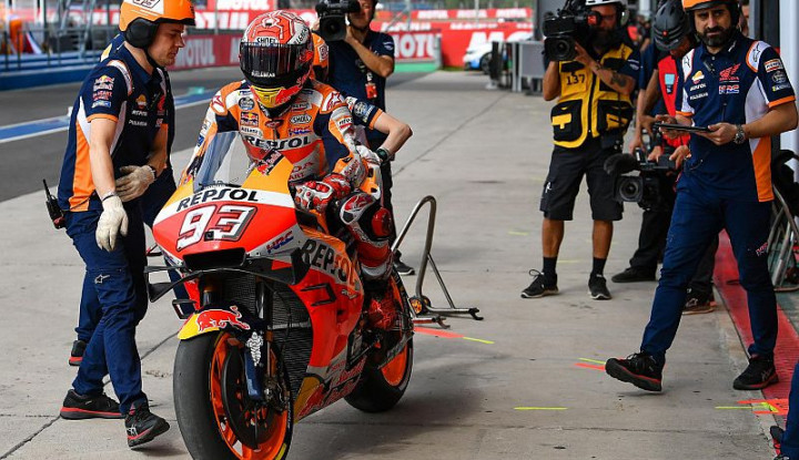 Start ke-6 di MotoGP Portugal, Marquez Ogah Berandai-andai Sebab...