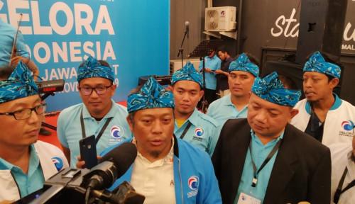 Foto Tok! Mantan PKS Resmikan Partai Gelora di Jabar