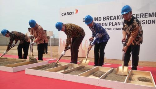 Cabot Indonesia Tambah Kapasitas Produksi 80.000 Ton
