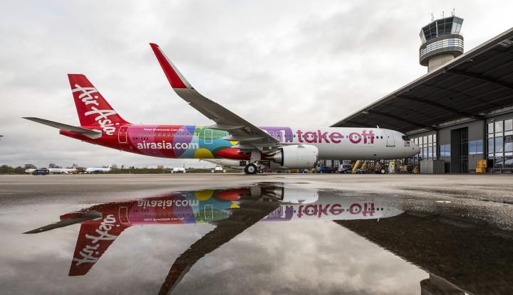 AirAsia Segera Terbangkan Pesawat A321neo Pertamanya - Warta Ekonomi