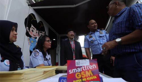 Foto Smartfren X Kantor Imigrasi Jakarta Pusat Bikin Layanan Paspor Makin Instan