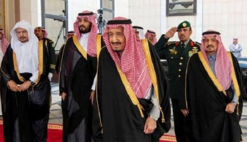 Foto Raja Salman Jamu Rabi Yahudi Israel untuk Pertama Kali, Apa yang Dibahas?
