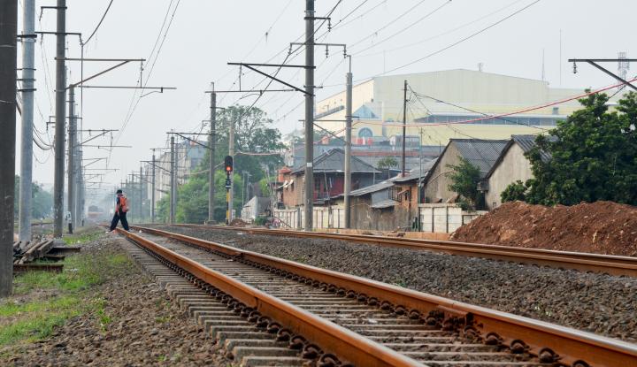 KAI Revitalisasi Wesel di Stasiun Gambir dan Jakarta Kota, Ini Alasannya - Warta Ekonomi