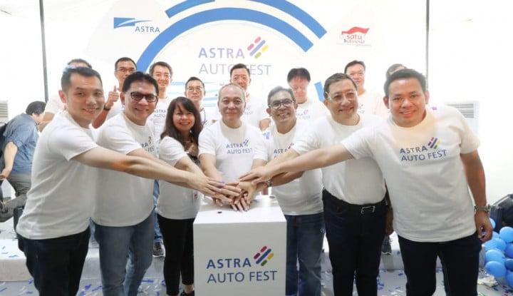 Dari Astra Auto Fest, Astra Optimis Pangsa Pasar Jadi 53% - Warta Ekonomi