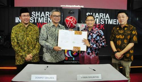 PANS Dompet Dhuafa Ajak Philip Sekuritas Indonesia dan Panin Sekuritas Luncurkan Wakaf Saham