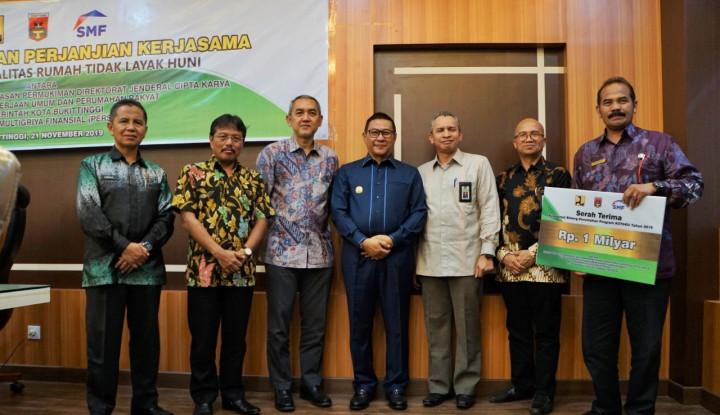 Setelah Yogya, SMF Akan Benahi 12 RTLH di Bukittinggi - Warta Ekonomi
