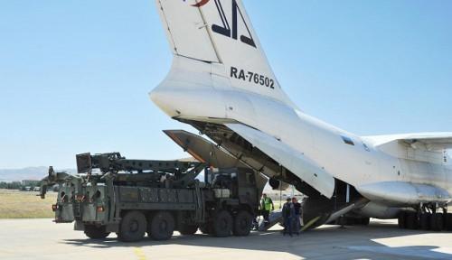 Foto AS Desak Batalkan Beli Rudal S-400, Turki Tetap Lakukan Uji Coba
