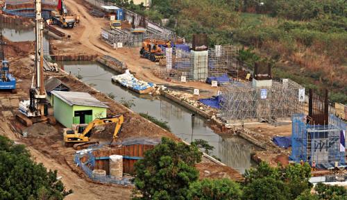 Foto Heboh Air Terjun Tol Becakayu Banjiri Bekasi, Begini Kata Kontraktor