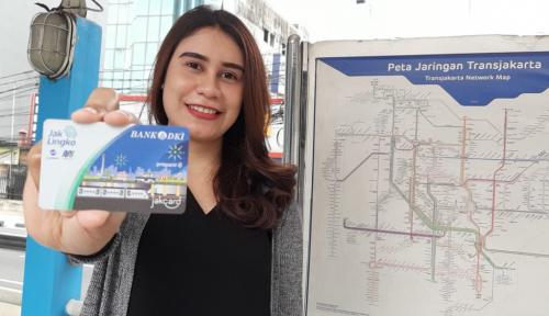 Foto Sasar Pengguna Transportasi Publik, Bank DKI Dorong Transaksi Non Tunai
