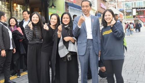 Foto Netizen Tak Tinggal Diam saat Foto Saranghae Pak Jokowi Salah