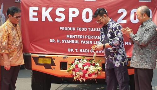 Mentan SYL Lepas Ekspor Produk Peternakan  ke Jepang dan Timor Leste