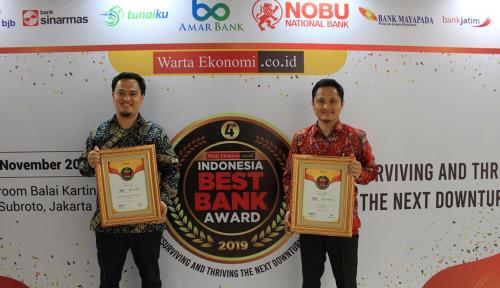 Foto Mantap, Nih! Dua Tahun Berturut-turut, Amar Bank Raih Indonesia Best Bank Award