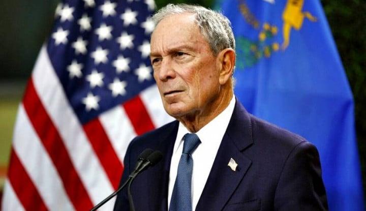 Kandidat Capres Partai Demokrat Michael Bloomberg Jadi Sasaran Tembak Rivalnya - Warta Ekonomi