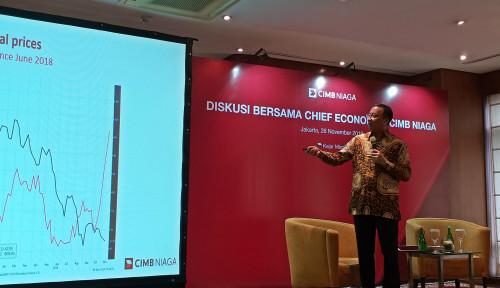 Foto Ekonomi Indonesia Penuh Tantangan di 2020, Ekonom CIMB Niaga Kasih Saran Begini
