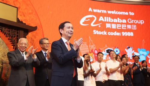 Foto Resmi Melantai di Bursa Hong Kong, Perusahaan Besutan Jack Ma Ini Punya Target Ambisius