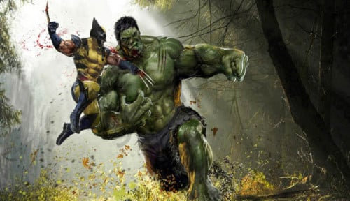 Foto Hulk Bakal Dibuatkan Film Sendiri, Mark Rufallo: Wolverine Vs Hulk