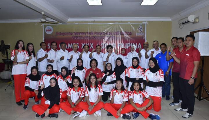 Menuju SEA Games 2019, Timnas Bola Voli Indonesia Siap dan Targetkan Emas. Doakan, Ya! - Warta Ekonomi