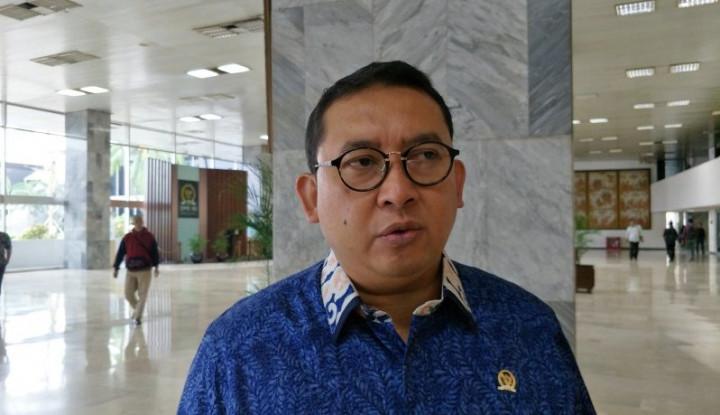 Soal Habib Rizieq, Fadli Zon Bilang Presiden Jokowi Harus... - Warta Ekonomi