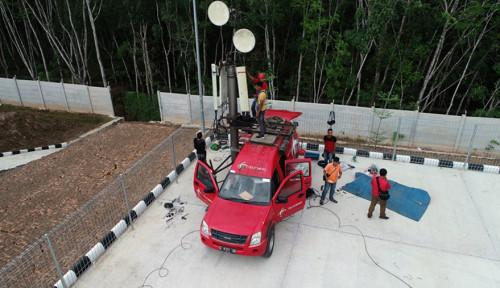 Foto Ratusan BTS Telkomsel Jangkau Tol Trans Sumatera, Antisipasi Mudik dan Liburan