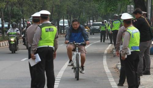 Masuk Jalur Sepeda, Kendaraan Bisa Ditahan 2 Bulan