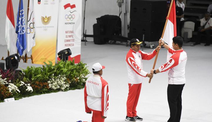 Kirim 841 Atlet, Menpora Kukuhkan Kontingen Indonesia untuk Berlaga dalam SEA Games 2019 - Warta Ekonomi
