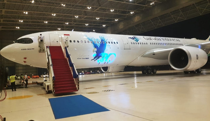 Garuda Perkenalkan Pesawat Terbarunya, Airbus A330-900 Neo - Warta Ekonomi