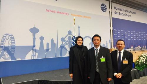 Foto Mantap! Indonesia Terpilih Jadi Anggota Komite Organisasi Expo Internasional