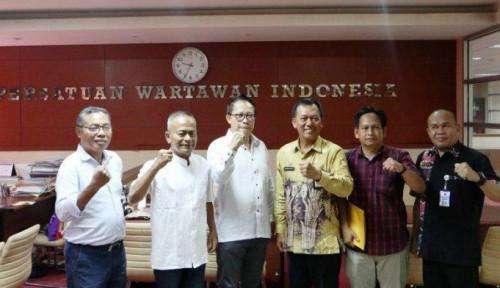 Foto Gelar HPN 2020 di Banjarmasin, PWI-Pemprov Kalsel Teken Kerja Sama